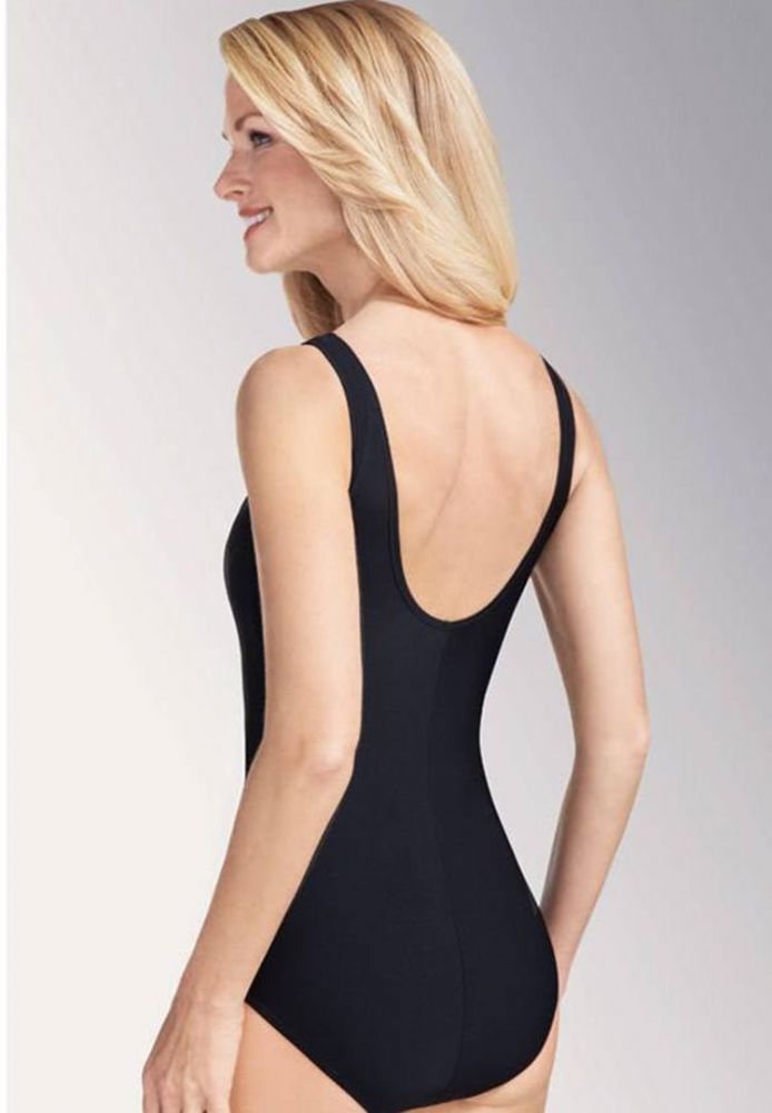 Amoena Rhodes One Piece Swimsuit (Black)